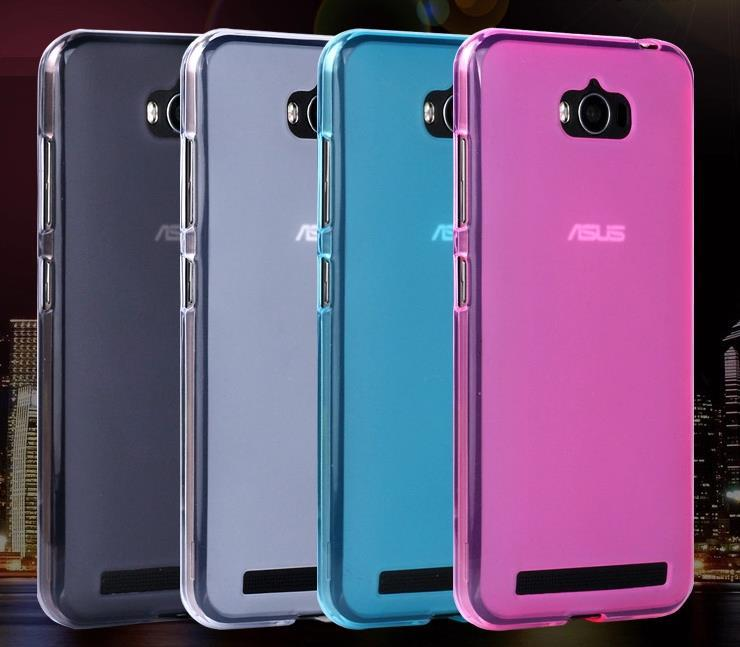 Asus Zenfone Max ZC550KL Silicone Soft Case Cover Casing + Free Gift