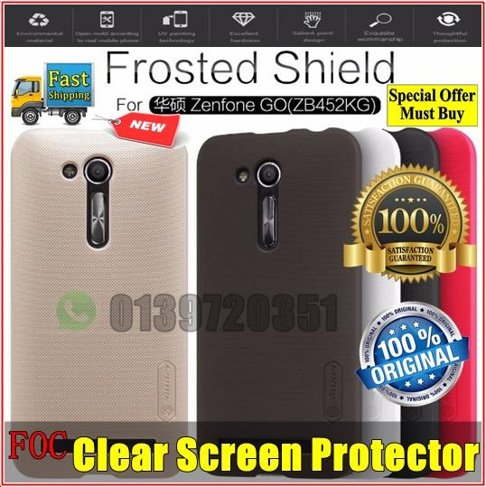 Asus Zenfone Go ZB452KG Nillkin Frosted Shield Hard Back Cover