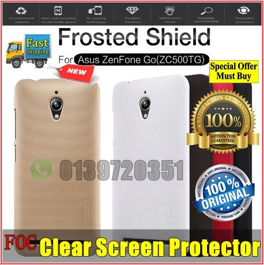 Asus Zenfone Go ZC500TG Nillkin Frosted Shield Hard Back Cover