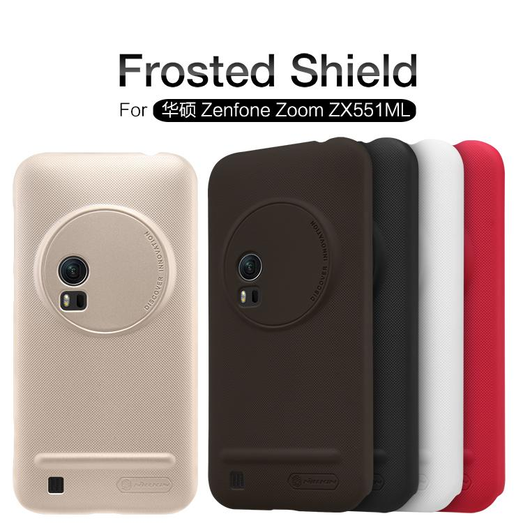 Asus Zenfone Zoom ZX551ML Nillkin Super Frosted Shield Cover Sand Case