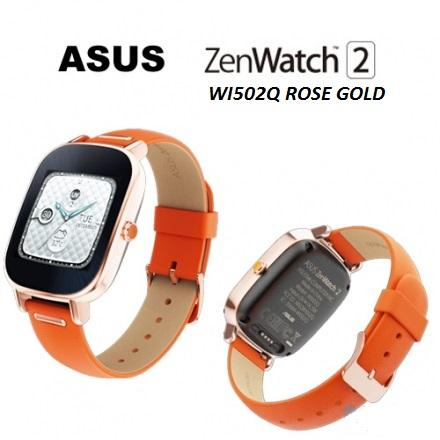 New Asus ZenWatch 2 WI501 / WI502 Q Ori Asus Msia Set FOC Gift
