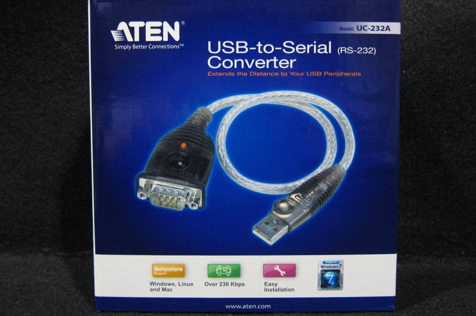 Aten Cable USB 2.0 to Serial RS-232 35cm