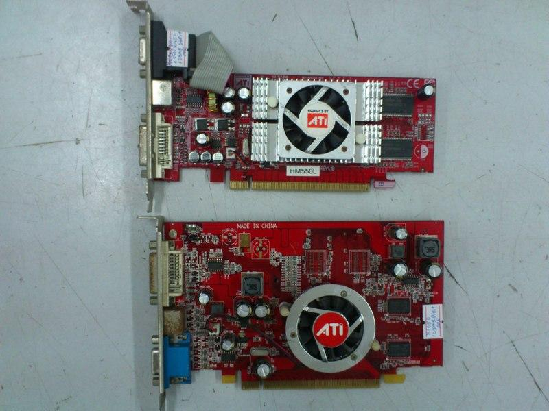 ATI Radeon X300 X550 X1050 128MB PCI-E Graphic Card 300414