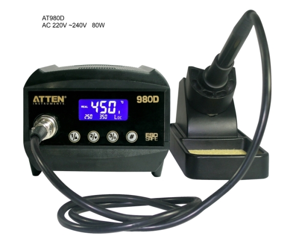 ATTEN AT980D 80watt ESD Safe Digital Soldering Station