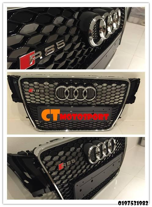 Audi A5 Convert RS5 (Year 08-12) Grille
