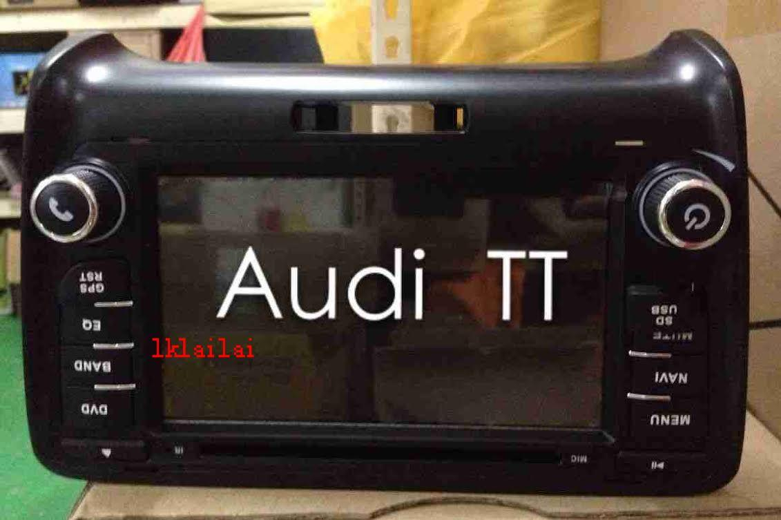 Audi TT 7' Full HD Double Din DVD Player with GPS System