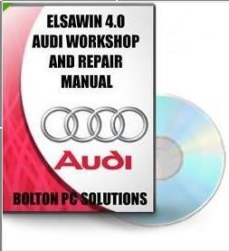 Audi workshop service repair manual elsawin 4.0