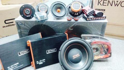 Audible Dynamic full car audio system Package B