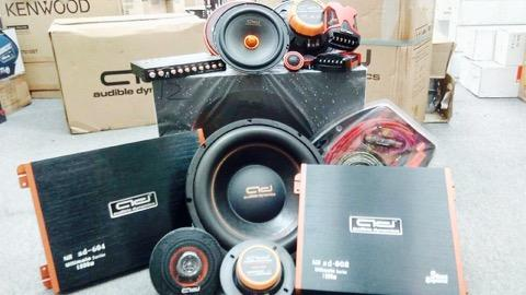 Audible Dynamic full car audio system set A