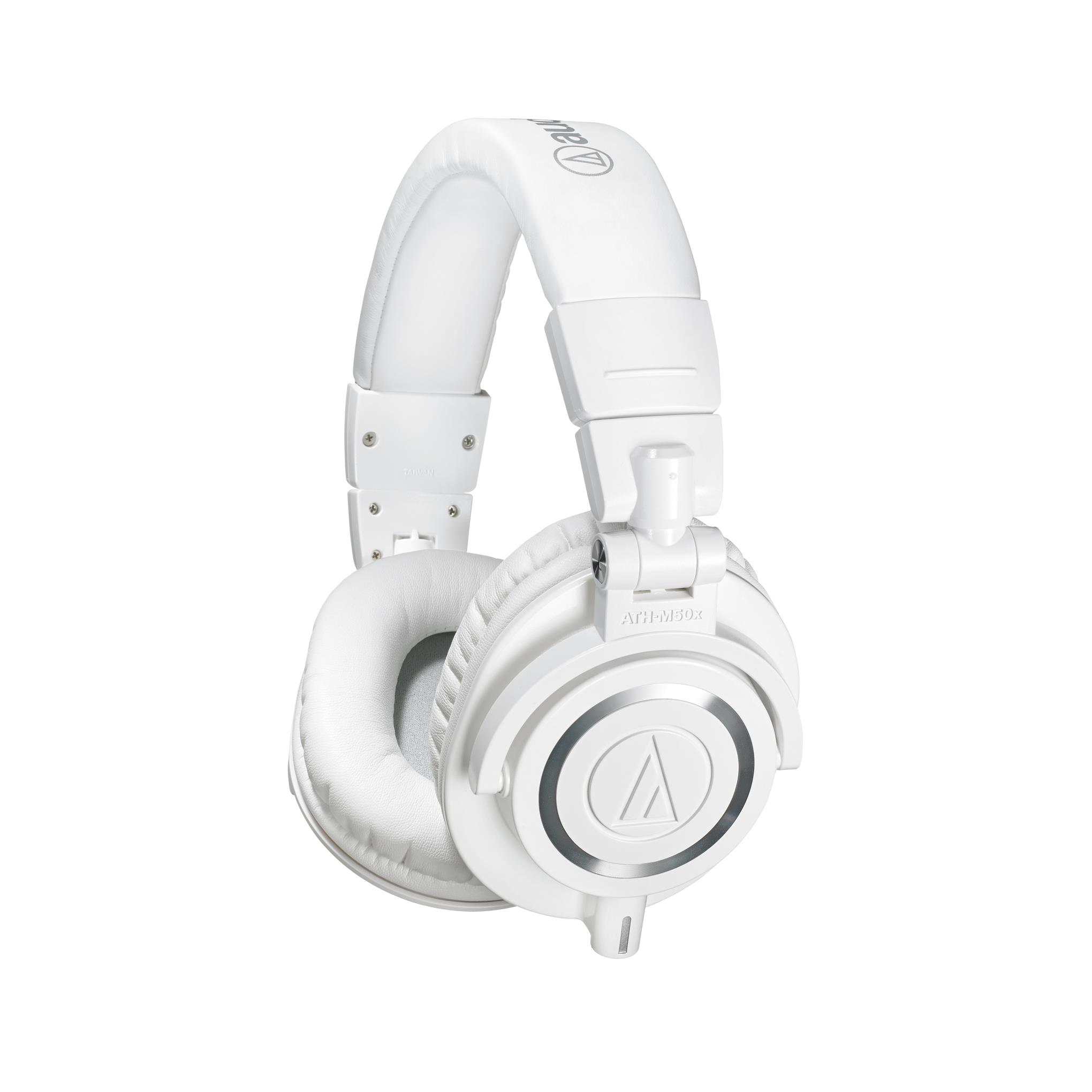 Audio Technica ATH-M50x WH Professional Monitor Headphones