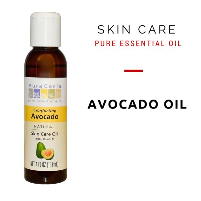 Aura Cacia, Natural Skin Care Oil, Comforting Avocado (118 ml)