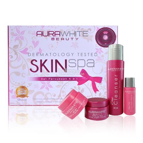 Aurawhite skin spa trial set 100 end 11 2 2017 5 15 pm for A trial beauty treatment salon
