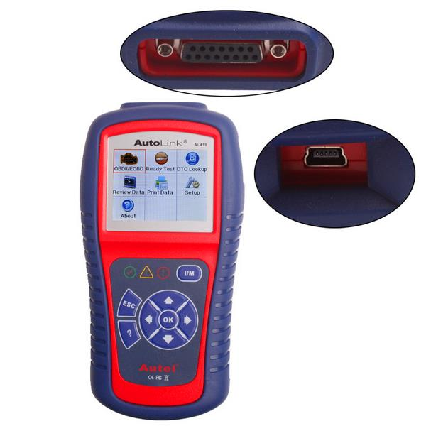 Autel Auto Link AL419 OBD OBDII and CAN Scan Tool