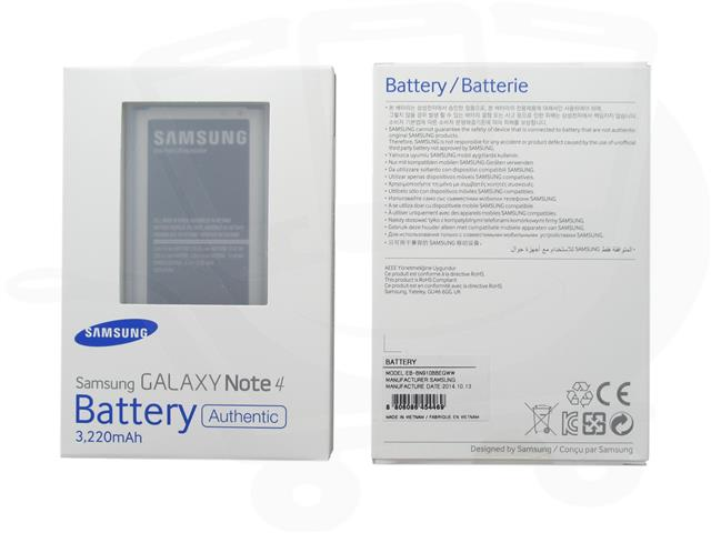 Authentic Genuine Battery EB-BN910BBE Samsung Galaxy Note 4 / N910C