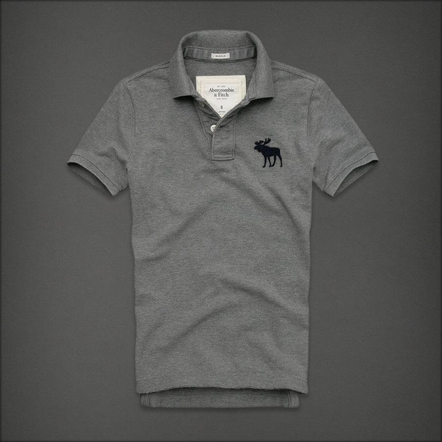 Abercrombie Polo Muscle