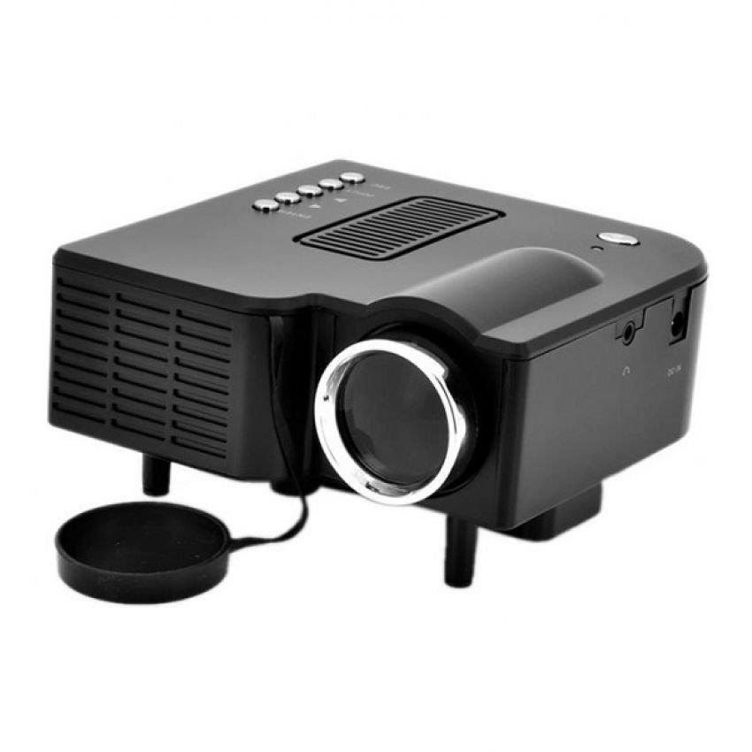 New authentic portable mini led projector video audio vga for Mini usb projector for mobile
