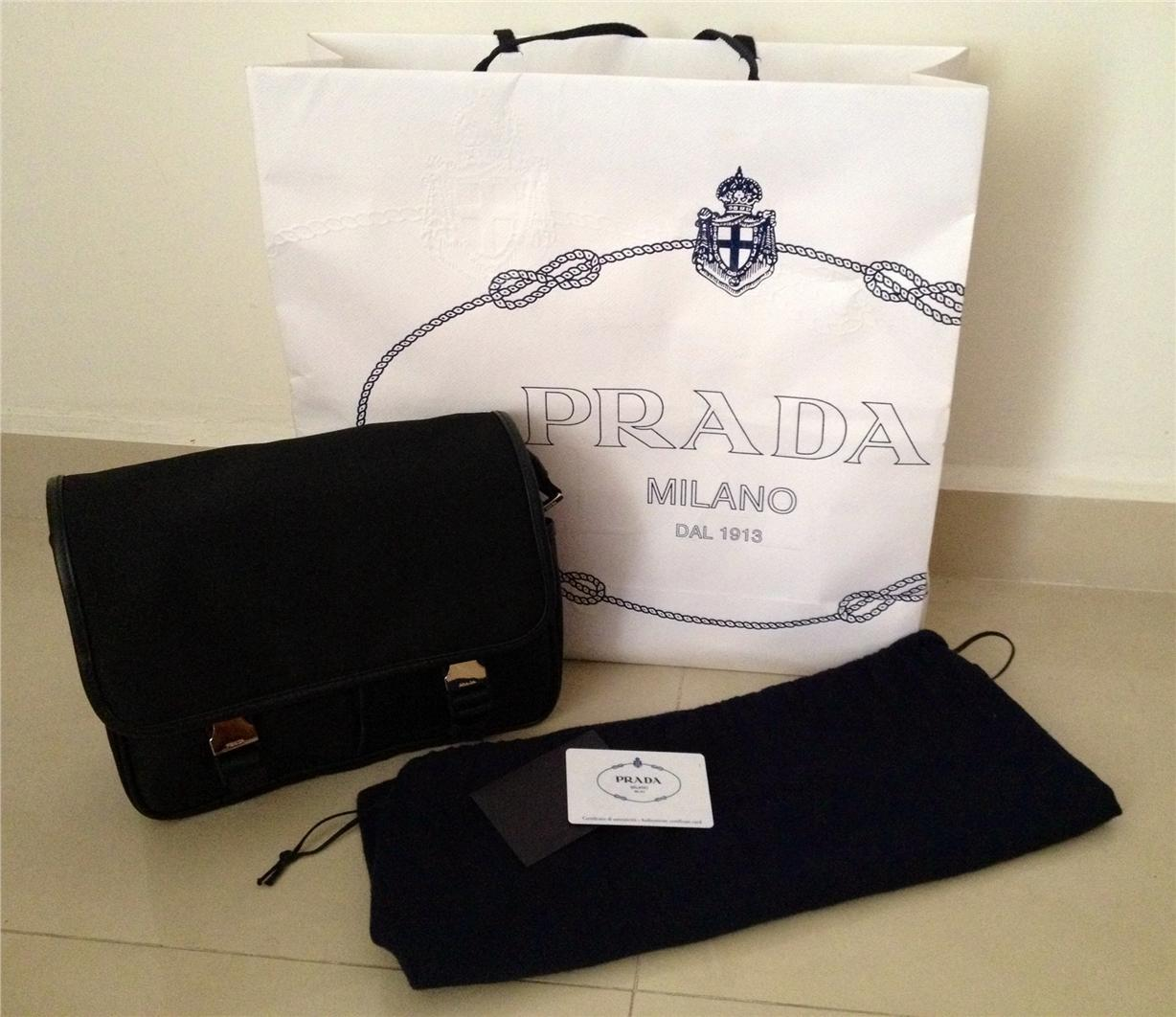 prada messenger bag sale