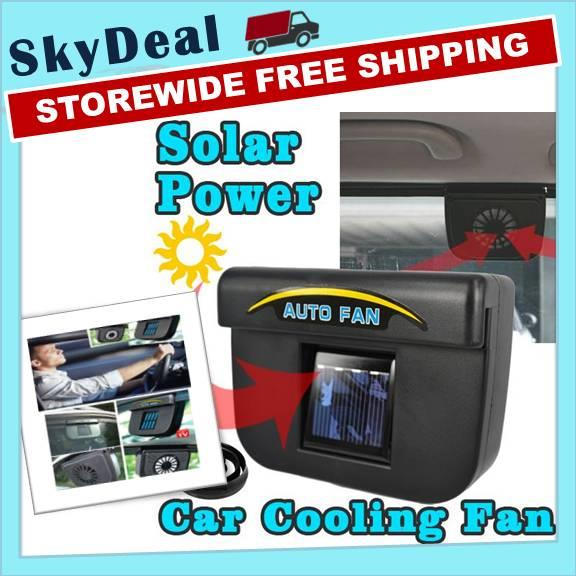Auto Fan Car Ventilation Cooler Solar Power System