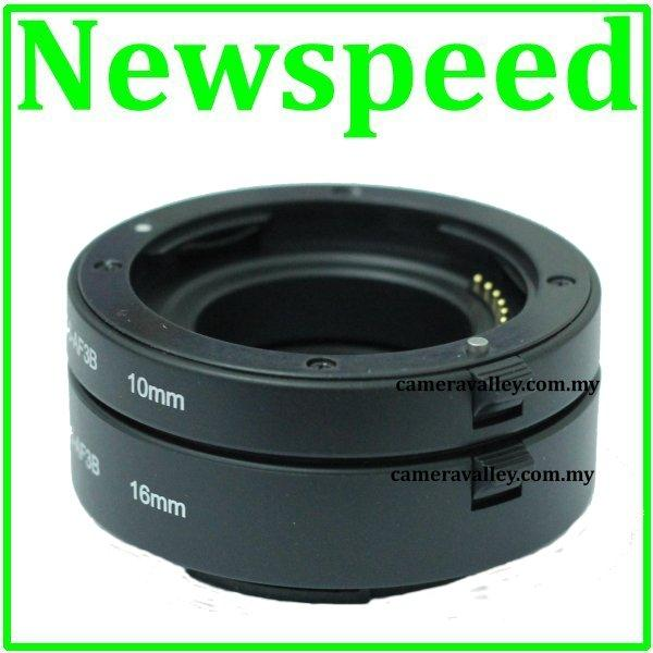 Auto Focus Macro Extension Tube for Panasonic Lumix Micro 4/3 MFT DSLR