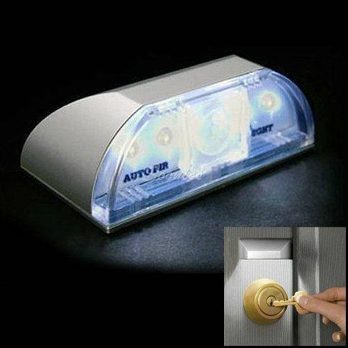 Auto PIR Door Keyhole IR Motion Detect Sensor LED Light