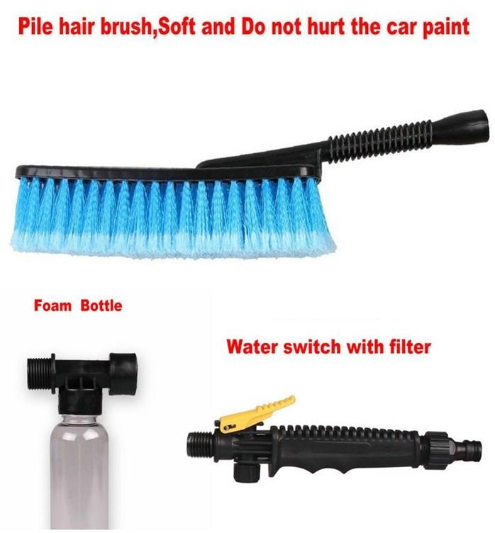 Retracable Long Handle Brush For Washing Cars