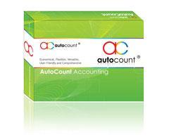 Autocount Software Express Accounting (Account Only)