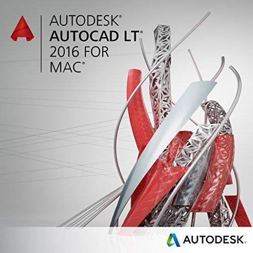 Autodesk AutoCAD LT for Mac 2016 Commercial New Single-user ELD