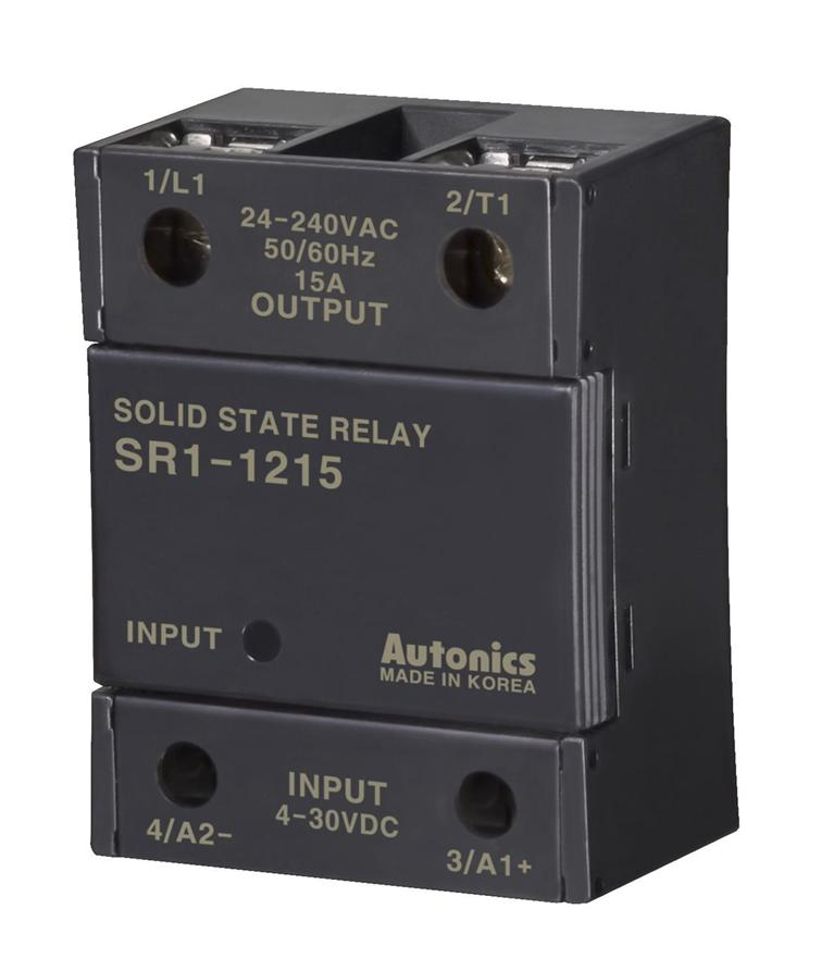 AUTONICS Solid State Relay SR1-1215 with Separated Heat Sink