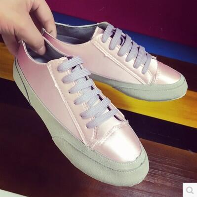 Autumn new arrival Silk satin casual flat wild-clothing shoe