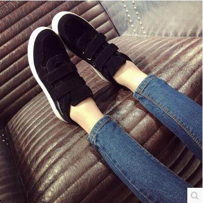 Autumn Korea version muffin thick sole magic stick casual shoe