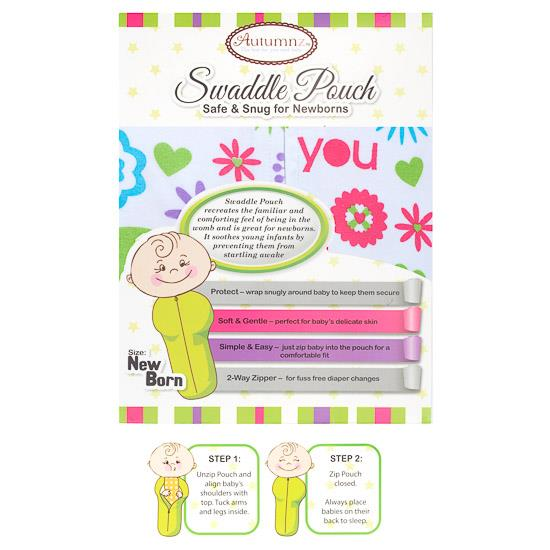 Autumnz - Swaddle Pouch (Sweet Daisy)