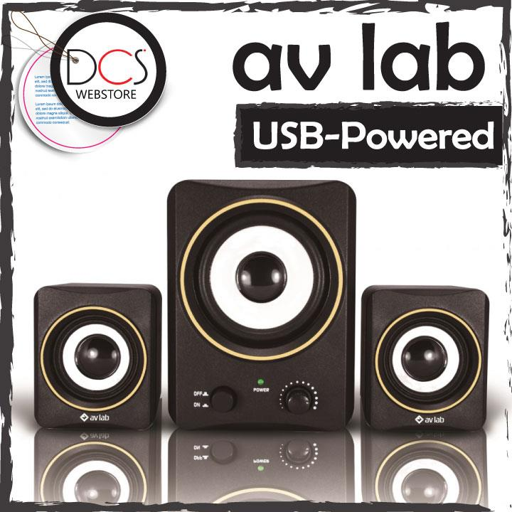AV Lab U3 USB-powered 3' Subwoofer Desktop Speaker