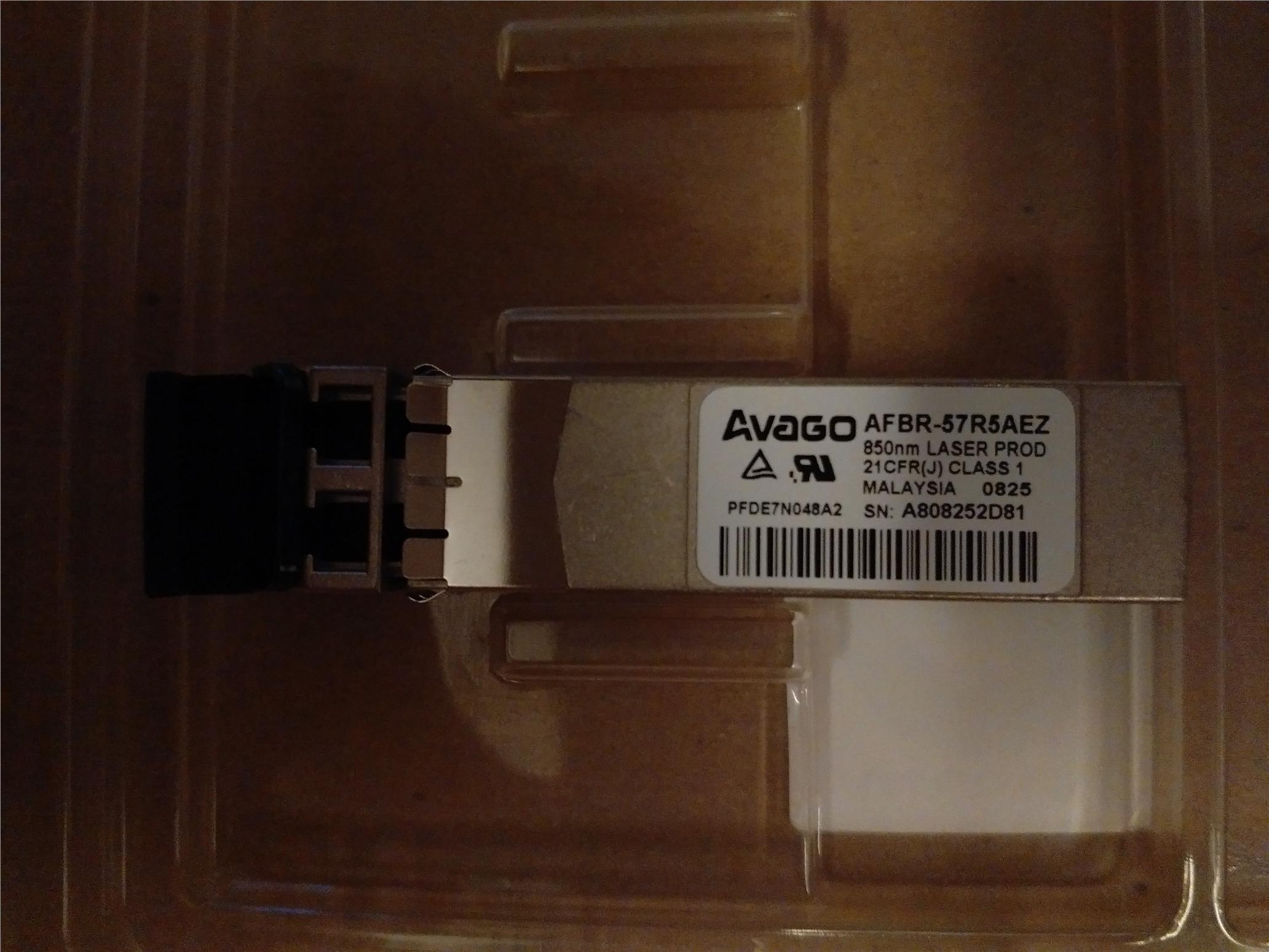 Avago 4GB SFP+ Optical Transceiver