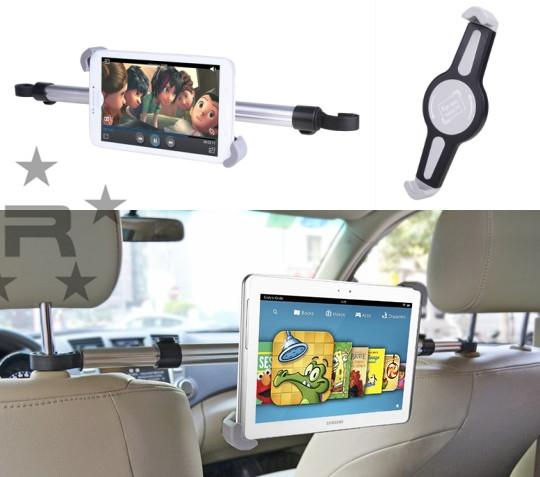 Avantree 360 Degree Rotation Car Head Mount for Tablet - Monkey
