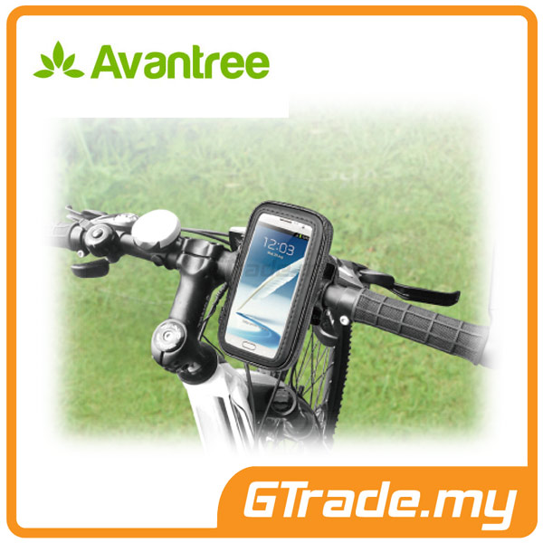 AVANTREE Bike Phone Holder+Case Samsung Galaxy Note 5 4 3 2 S7 S6 Edge