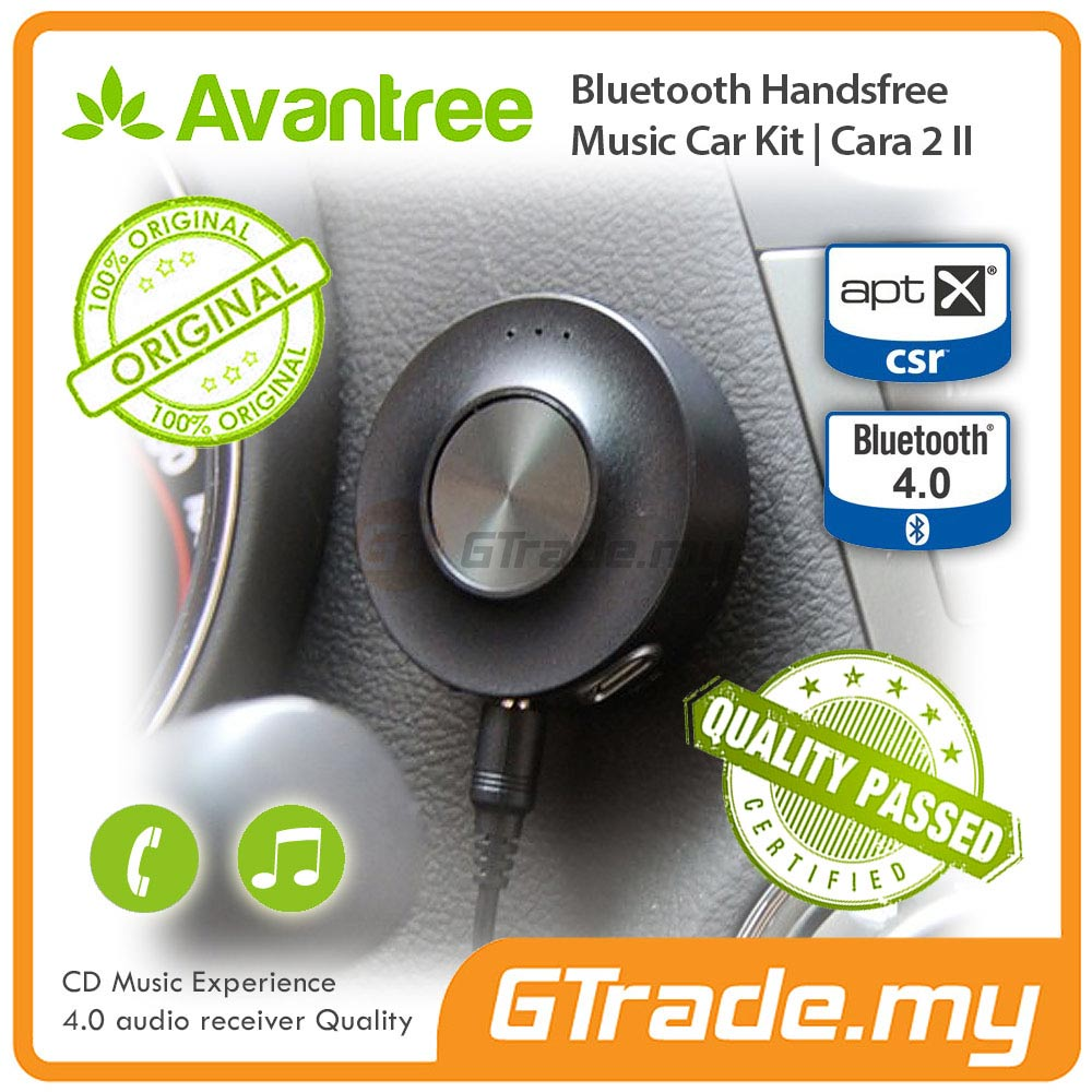AVANTREE Bluetooth Hands Free Car Kit Adapter Receiver Cara 2