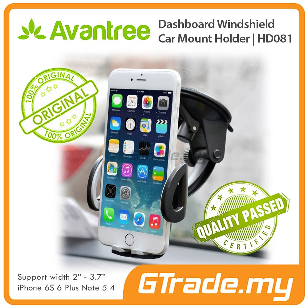 AVANTREE Car Phone Holder 2 in 1 Samsung Galaxy S7 S6 Edge S5 S4 S3