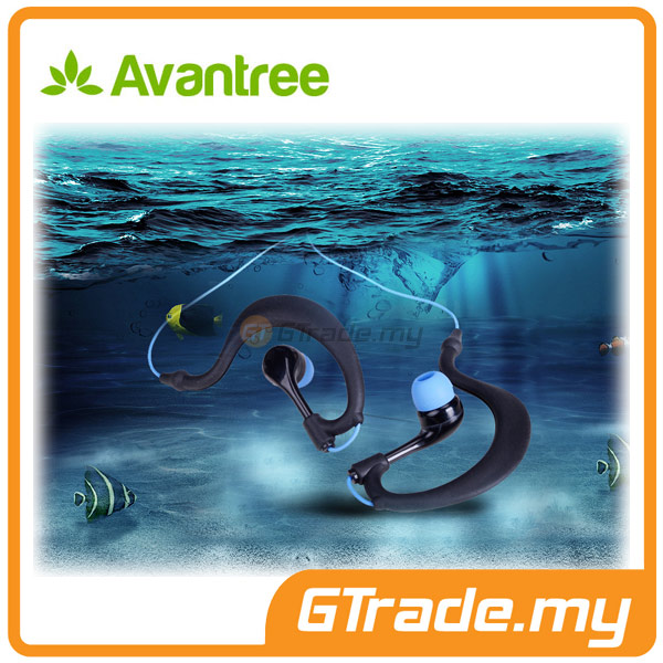 AVANTREE Headphone Earphones Waterproof IPX8 Snorkeling SAILFISH