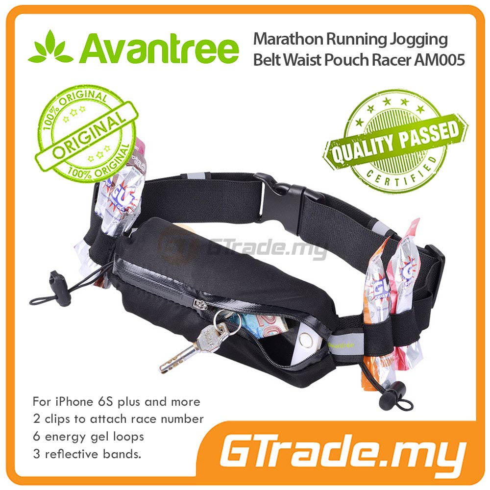 AVANTREE Jogging Running Belt Pouch RC Apple iPhone 7 7S Plus