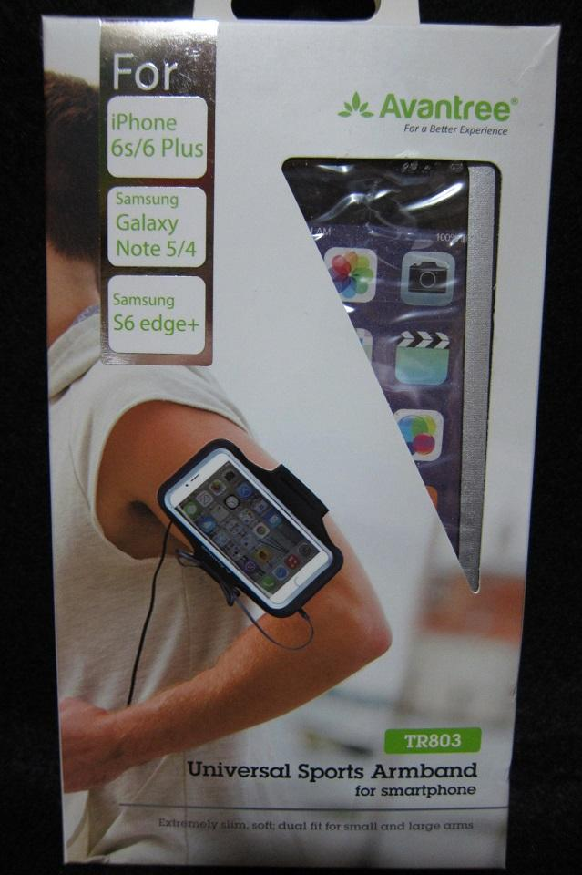 Avantree Pouch Sports Armband for Smartphone (TR803)