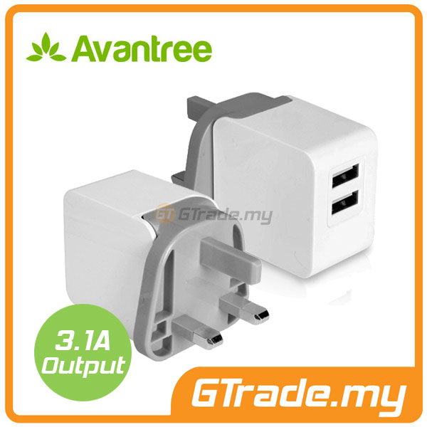 AVANTREE USB Charger 3A Fast Charge Samsung Galaxy S7 S6 Edge S5 S4 S3