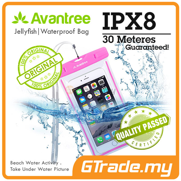 AVANTREE Waterproof Bag Case Universal PK Samsung Galaxy S7 S6 Edge S5