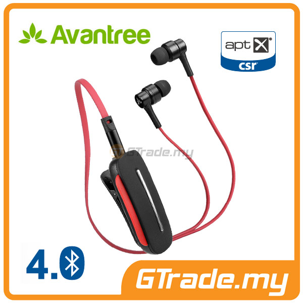 AVANTREE Wireless Bluetooth Headphones Headset 4.0 AptX Audio Clipper