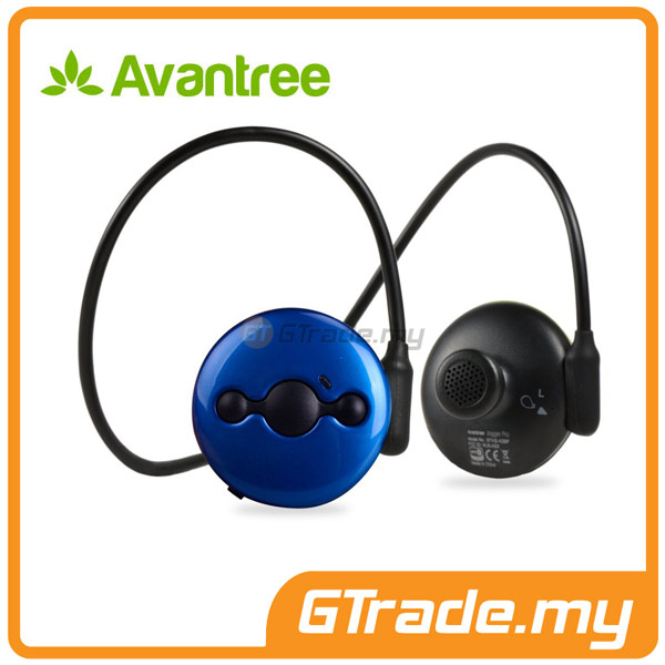 AVANTREE Wireless Bluetooth Headphones Headset Running JOGGER PRO Blue