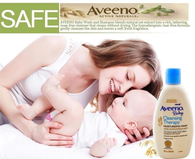 Aveeno Baby, Cleansing Therapy Moisturizing Wash, Fragrance Free