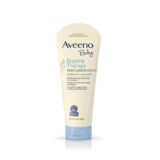 Aveeno Baby Eczema Therapy Moisturizing Cream, 7.3 Fl. Oz