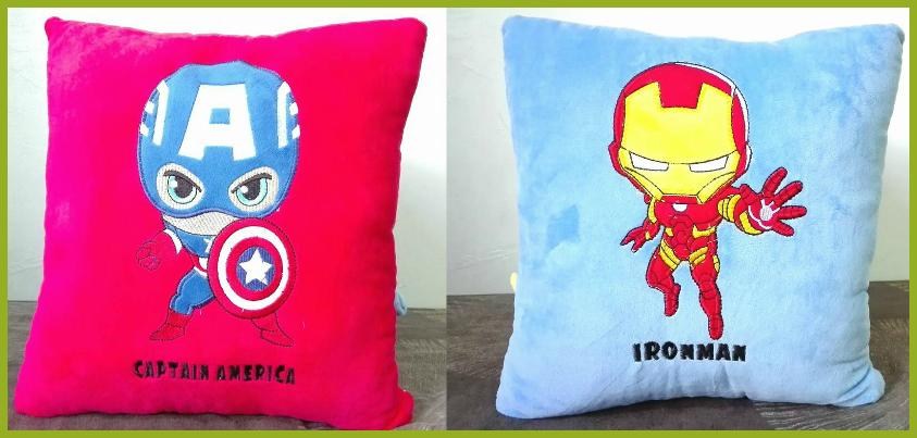 Avenger Cushions Collection / Avenger Pillows/ Cartoon Soft Plush