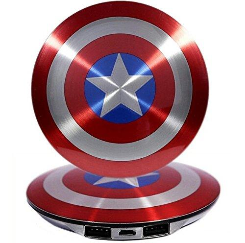Avengers Captain America Mini Portable Powerbank Charger