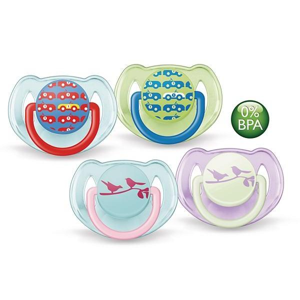 Avent Soother Fashion Range (6-18 Month) Twin Pack