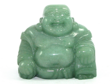 Aventurine Laughing Buddha Statue (L) to Take Away your Stress
